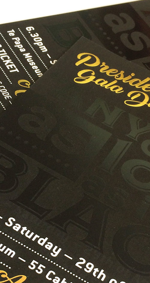 MTA – President's Gala Event Collateral