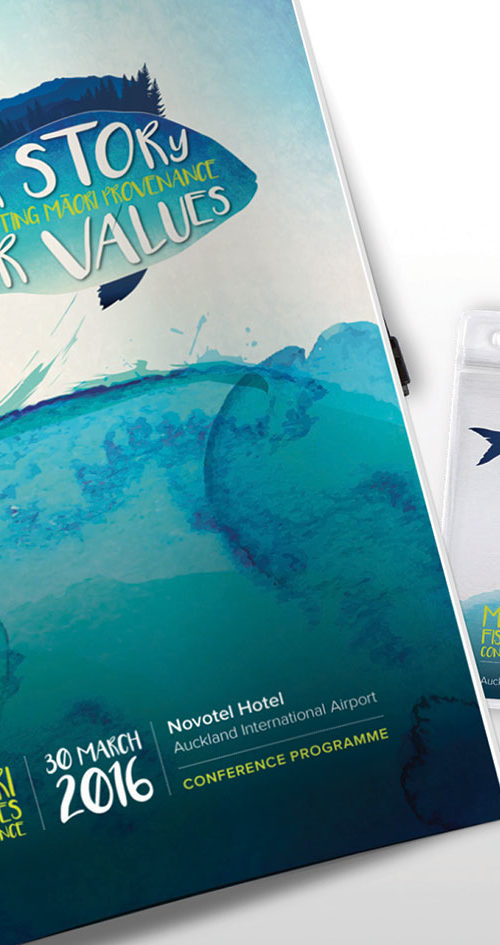 Te Ohu Kaimoana – Conference Collateral